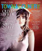 Olivia Wilde es la portada de marzo de la revista 'Town & Country' (si las plumas nos dejan ver)
