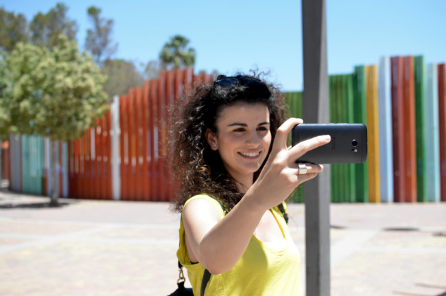 Compartiva Camaras Selfie
