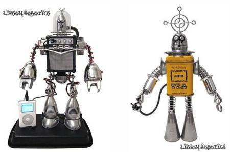 Lipson Robotics, esculturas robóticas