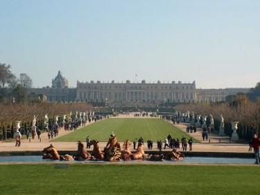 Visitar Versalles con un bebé