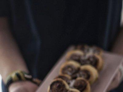 Receta de corazones de hojaldre y Nutella para San Valentín
