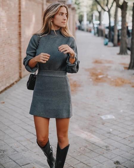 Vestido De Punto Ajustado 3