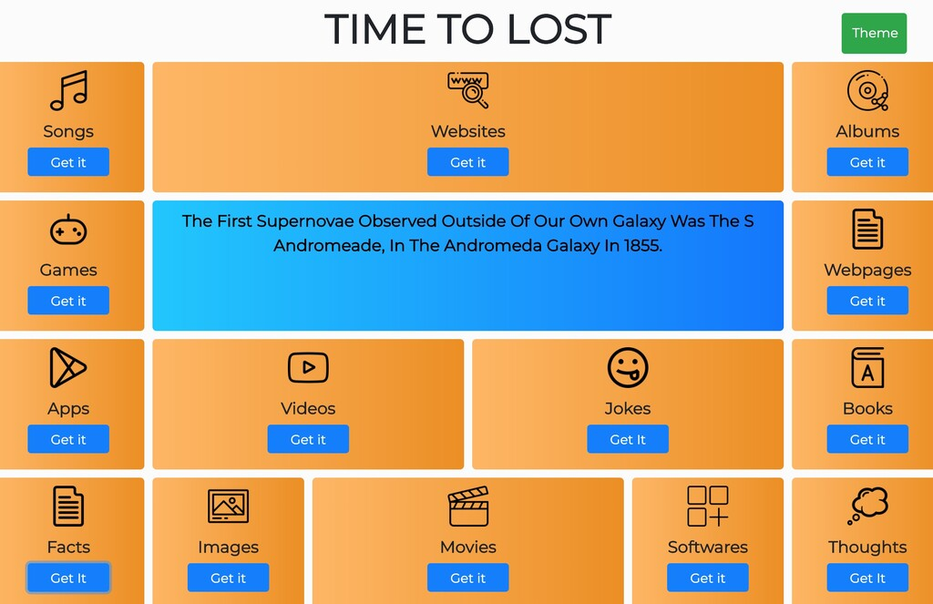 Time To Lost es una web para encontrar software, juegos, canciones, libros y más: ideal para superar el aburrimiento