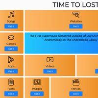 Time To Lost es una web para encontrar software, juegos, canciones, libros y más: ideal para superar el aburrimiento