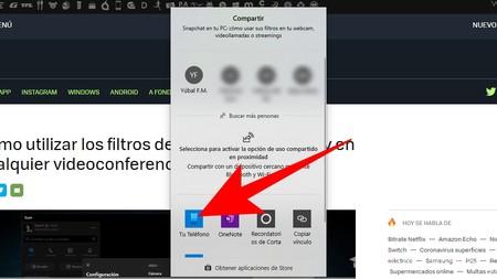 Envia Web A Android