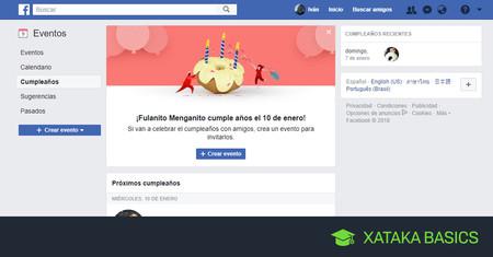 Cómo ocultar tu cumpleaños y edad en Facebook