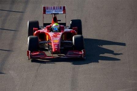 Felipe Massa estrena el nuevo Ferrari F60