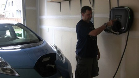 Versicharge Nissan Leaf