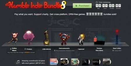 The Humble Indie Bundle 8 recauda más de un millón de dólares en dos días