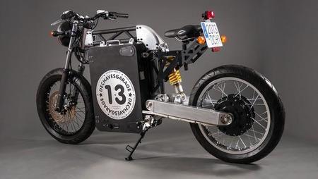 Un prototipo español minimalista de motocicleta eléctrica: DCH Dechaves
