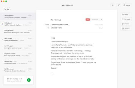 Tempo Gmail Cliente