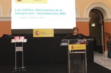Hábitos alimentarios de los inmigrantes en España 2007