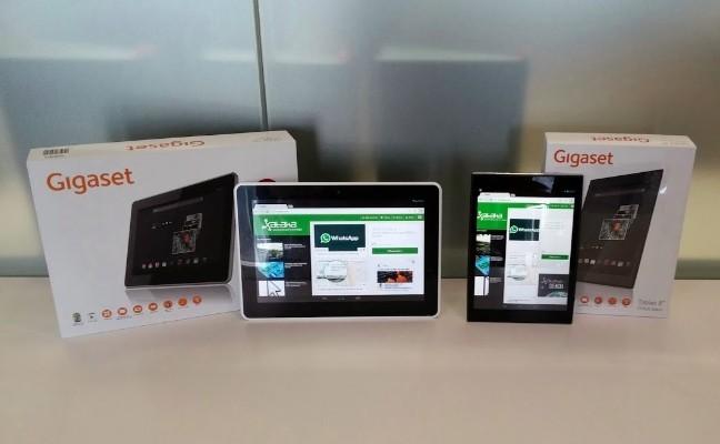 Gigaset se adentra en el territorio de los tablets Android con modelos de 8 y 10 pulgadas