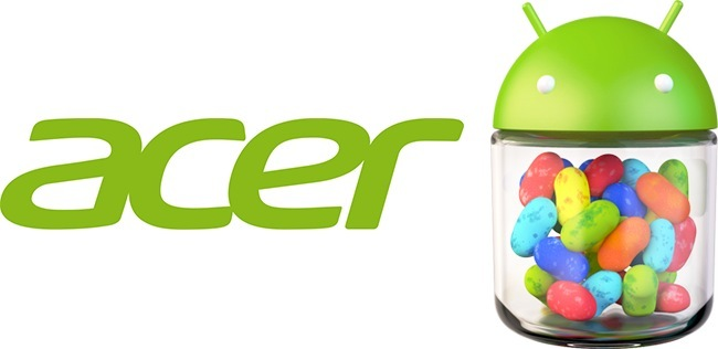 Acer y Android Jelly Bean