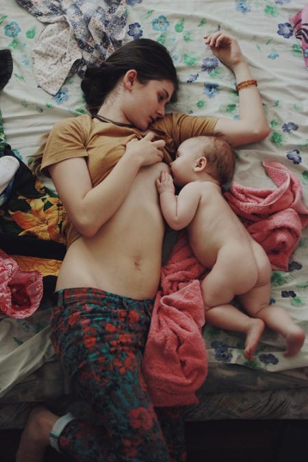 Consejos para recuperar la figura después del parto: Pecho
