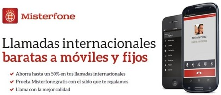 Misterfone, la aplicación de fonYou para realizar llamadas internacionales económicas