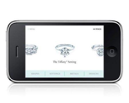 ¿Un anillo de compromiso Tiffany's comprado a través del iPhone? No, no quiero