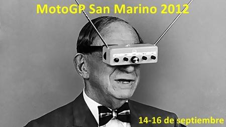 MotoGP San Marino 2012: dónde verlo por televisión