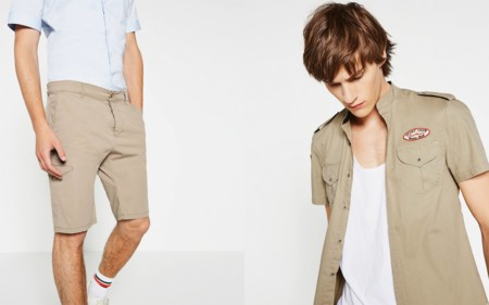 Exotic Safari Lookbook Man Summer 2016 Zara