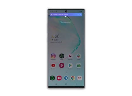 Samsung Galaxy Note 10 Plus Bixby Voice Rutina Muestra