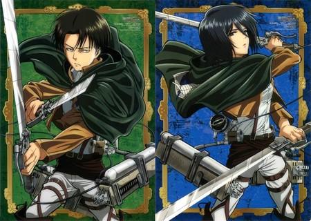Attack On Titan Levi Mikasa