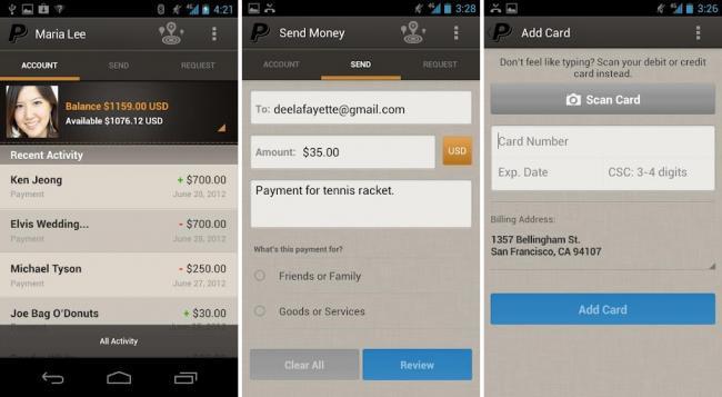 PayPal 4.0 para Android