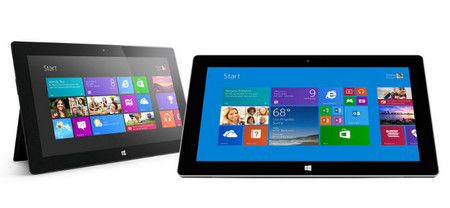 Surface RT y Surface 2