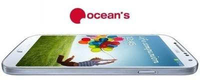 Precios Samsung Galaxy S4 con Ocean's