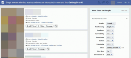 Facebook Graph Search 02