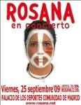 Entradas gratuitas para el próximo concierto de Rosana en Madrid