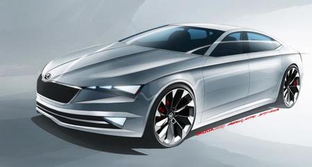 Škoda VisionC, prototipo para el Salón de Ginebra