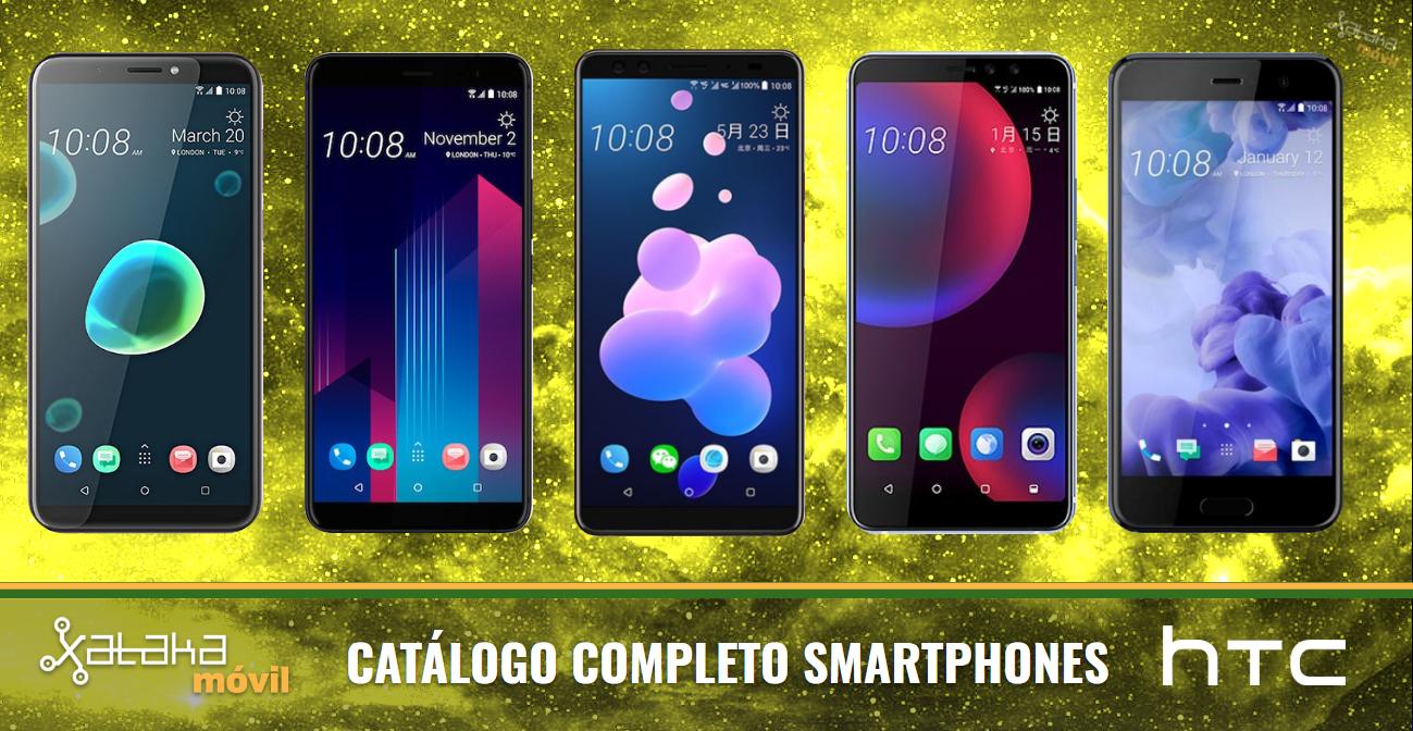 182d29b09a5 Catálogo móviles HTC 2018: especificaciones, precio y análisis en vídeo