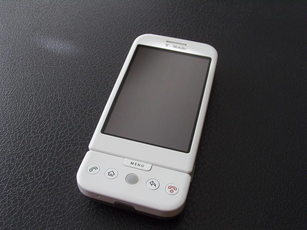 Foto de T-Mobile G1 White (23/24)