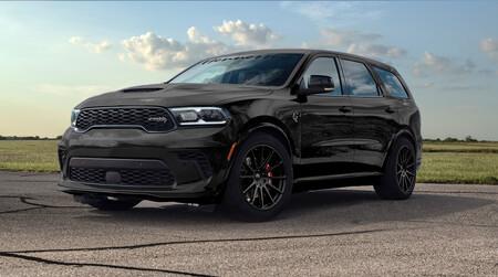 Dodge Durango SRT Hellcat HPE1000, la nueva bestia de Hennessey es capaz de acelerar de 0 a 100 km/h en 2.8 segundos