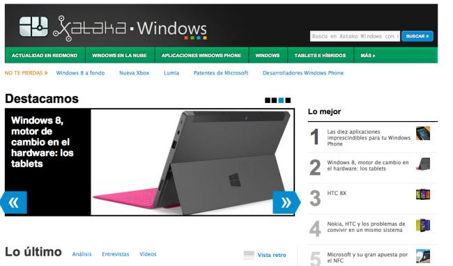 Xataka Windows ya está aquí