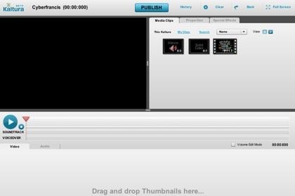 Kaltura, edición online de vídeos de forma colaborativa