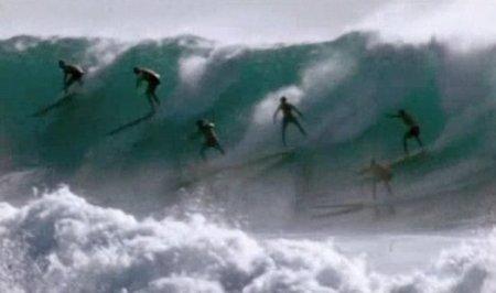 'Desafiando las olas', los orígenes del estilo sobre las olas