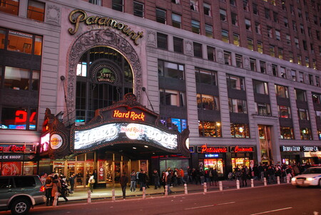 Hard Rock Café en Times Square, New York.