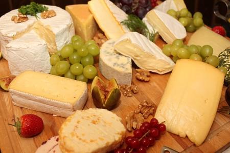 Diferentes clases de queso