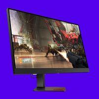 """Ahora puedes hacerte con este monitor gaming HP de 27"""" con 240 Hz por menos de 600 euros en el día sin IVA de El Corte Inglés"""