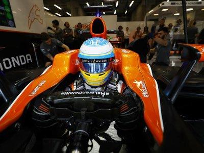 Alonso se retiró porque quiso, a su motor Honda no le pasaba nada