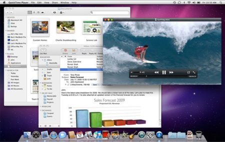 apple mac os x snow leopard 10.6 escritorio