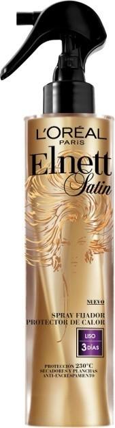 L'Oréal Heat Spray Elnett, una laca que fija y protege