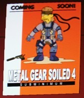 MGS4 Simpsonized!
