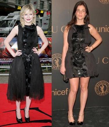 Vestido de Rodarte: ¿Julia Restoin-Roitfeld o Kirsten Dunst?