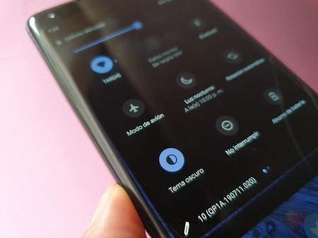 Android 10 Modo Oscuro Caracteristicas