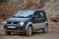 Fiat Panda 4x4, miniprueba en el campo