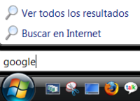 Windows Vista cambiará su buscador ante las quejas de Google