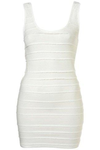 Topshop vestido minimalismo Tendencias primavera 2011