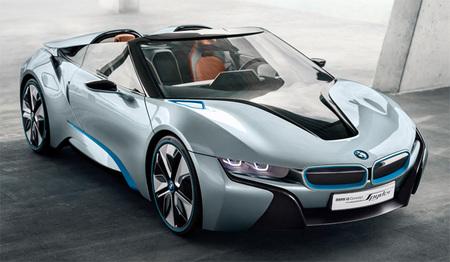 Vídeos y especificaciones técnicas del BMW i8 Concept Spyder